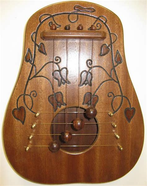 Harp-Woodworking