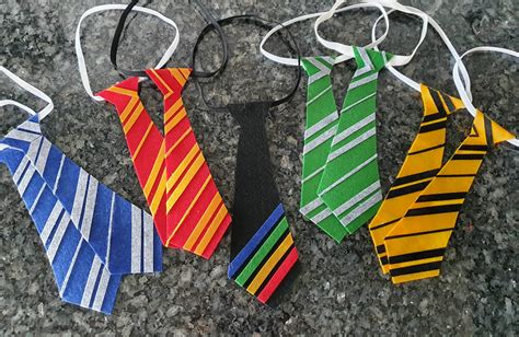 Harry Potter Felt Ties Diy