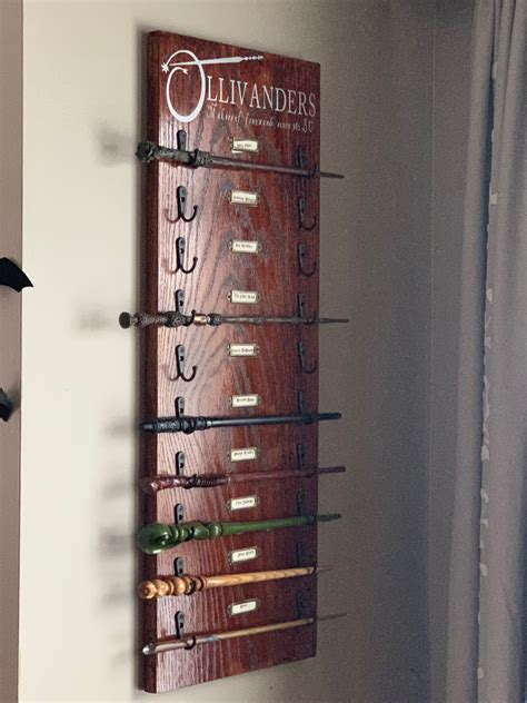 Harry Potter Wand Display Stand Diy For Magazines