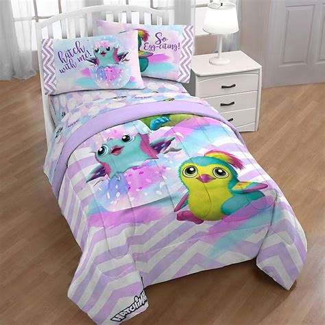 Hatchimals Bed Sheets