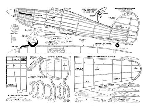 Search Results For Hawker Hurricane Balsa Wood Airplane Plans