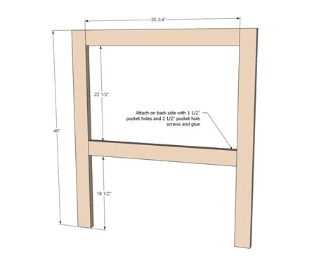 Headboard Plans Twin Size Bed