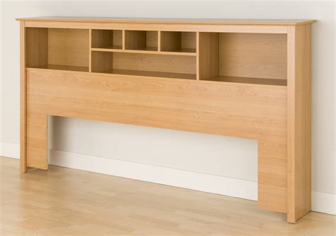 Headboard-With-Shelves-Plans