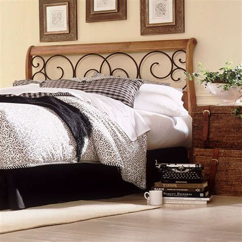 Headboards Wood With Metal