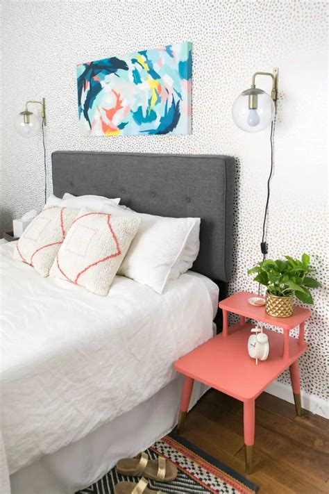 Headrest Bed Diy Decor