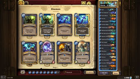 Hearthstone Build A Shaman Deck Hearthpwn