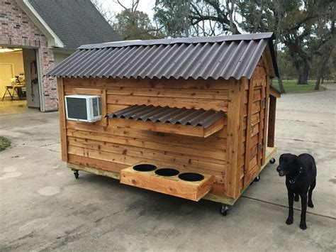 Heated-And-Cooled-Dog-House-Plans