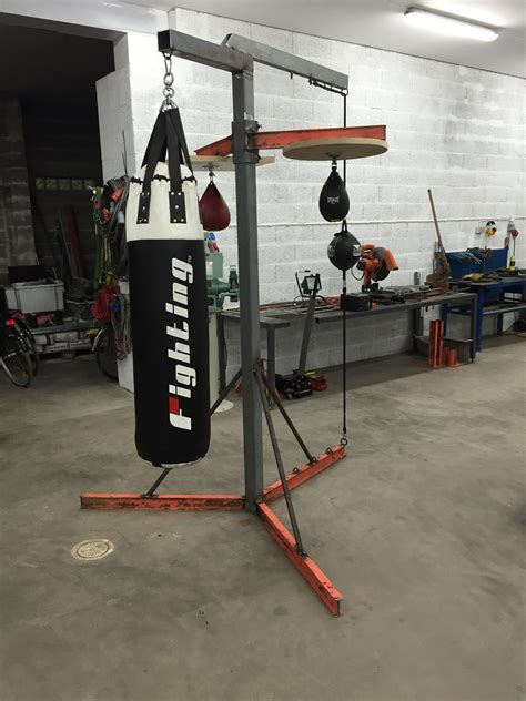 Heavy Bag Stand Diy With Wheels