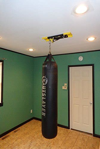 Heavy Bag Stand That Lets The Bag Slide Diy