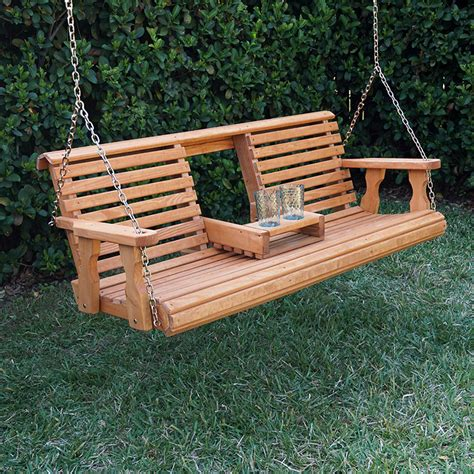 Heavy Duty Wooden Porch Swing Plans