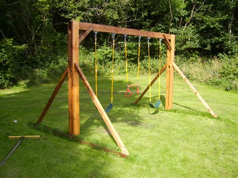 Heavy Duty Wooden Swing Set Plans