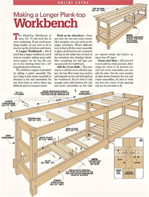 Heavy Duty Workbench Plans Pdf