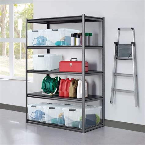 Heavy duty garage shelving costco Image