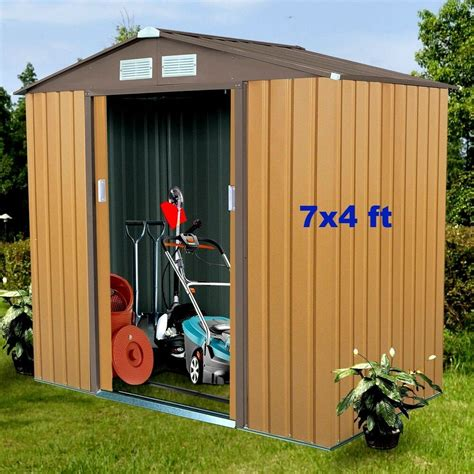 Heavy-Duty-Metal-Frame-Storage-Shed-Plans