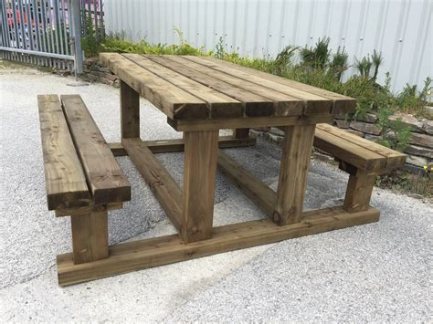 Heavy-Duty-Wood-Picnic-Table-Plans