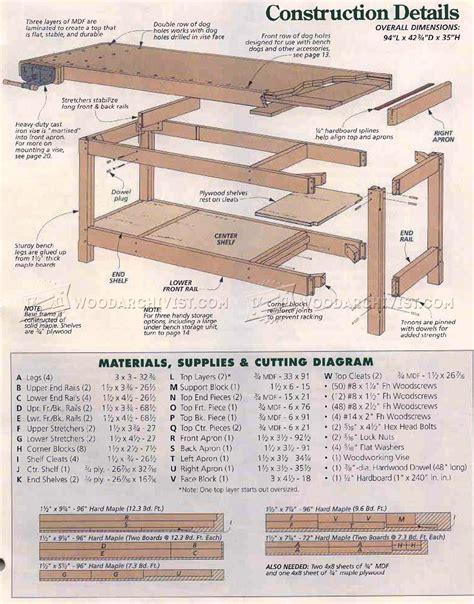 Heavy-Duty-Workbench-Plans