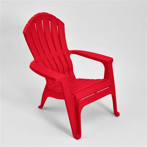 Heavy-Plastic-Red-Adirondack-Chairs