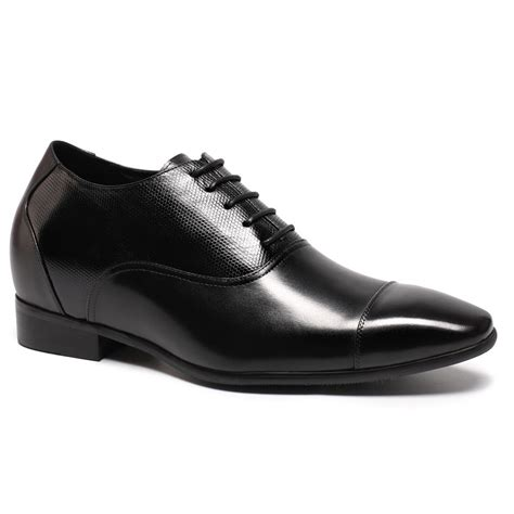 Height Increasing Shoes 2.95'' Taller Shoes to Make Guys Taller Men Lifting Shoes