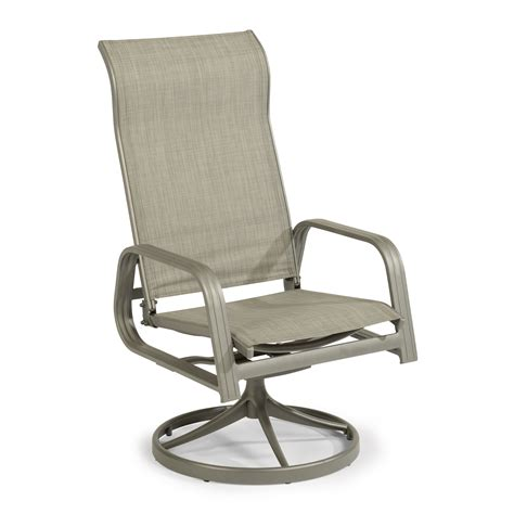 Helios Sling Swivel Rocking Chair