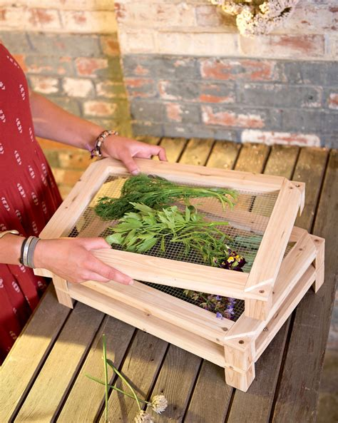Herb Drying Rack Plans