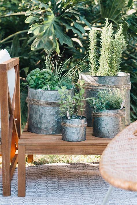 Herb Garden Table Diy