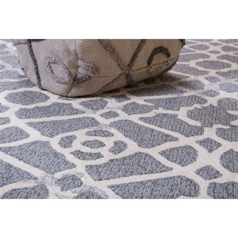 Heritage Hand-Tufted Gray Indoor/Outdoor Area Rug