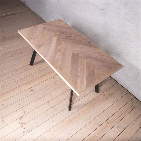 Herringbone Dining Table Youtube