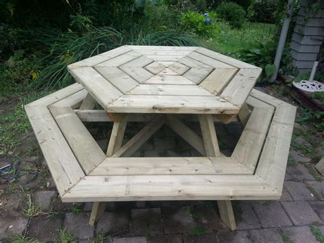Hexagon Table Diy Plans
