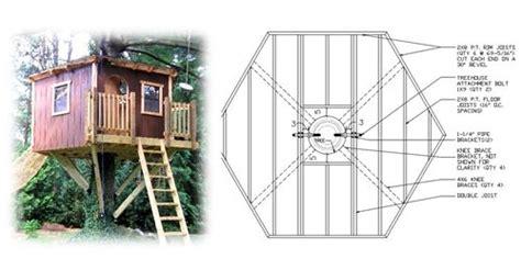 Hexagon-Treehouse-Plans