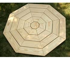 Best Hexagon garden table plans