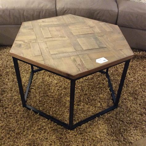 Hexagonal Coffee Table Wood DIY