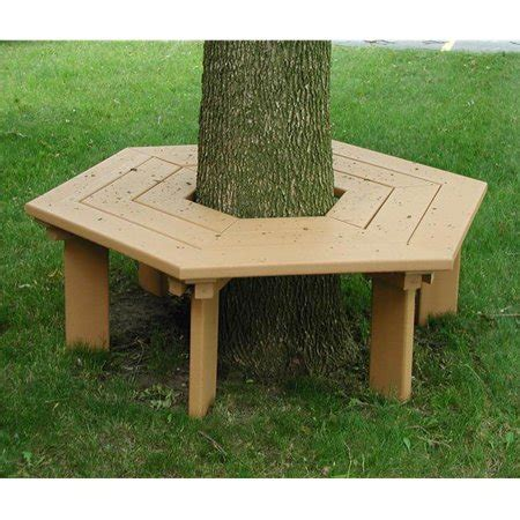 Hexagonal-Tree-Bench-Plans