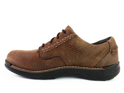 Hickory Men's Leather Oxford Shoes