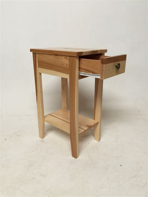 Hickory chair side tables Image