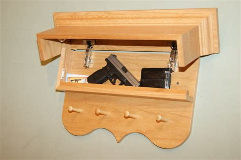 Hidden Compartment Coat Rack Plans