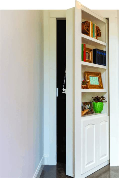 Hidden Door Bookcase Diy Plans
