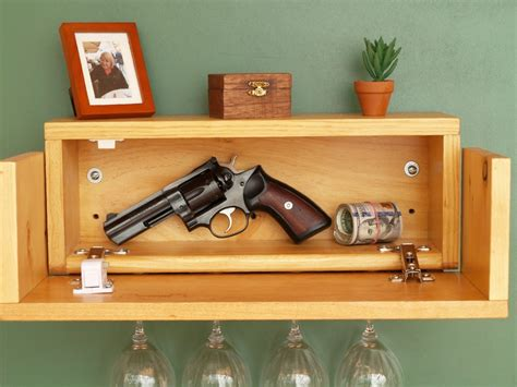 Hidden Gun Shelf Diy Magnetic