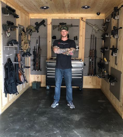 Hidden Rifle Storage Diy Room