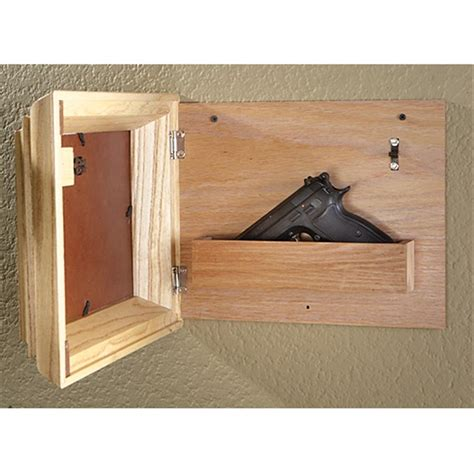 Hide A Gun Picture Frame Plans
