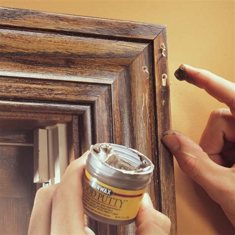 Hiding-Staple-Holes-In-Woodwork
