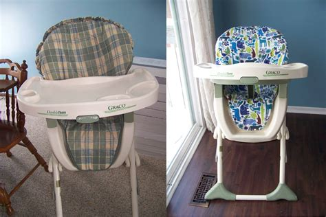 High Chair Cover Diy