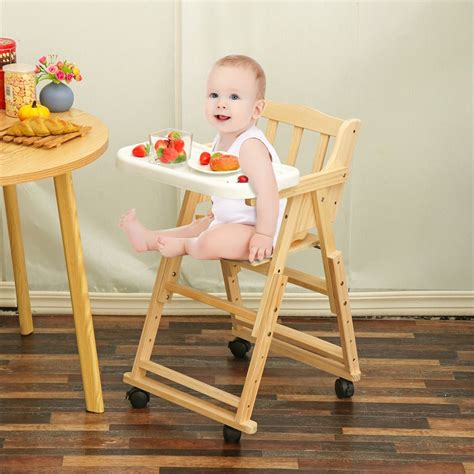 High Chair Tray For Kitchen Table