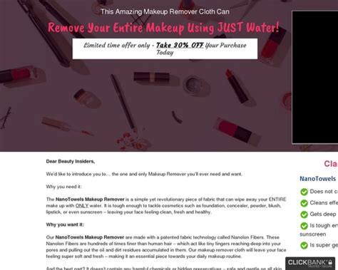 [click]high In Demand Makeup Remover Cloth W Insanely High .