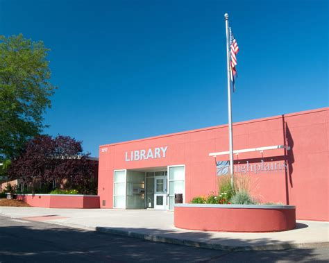 High Plains Library Greeley Co