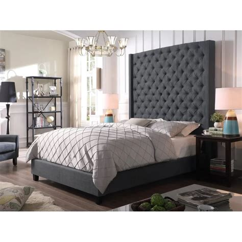 High Profile Wingback Bed Diy Decor