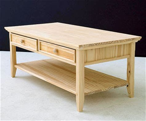 High School Easy Coffee Table Woodwork Plans