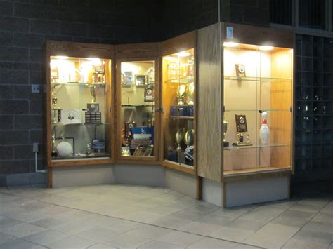 High School Trophy Case Plans