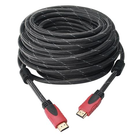 High Speed Braided Nylon HDMI Cable - Braided 100ft