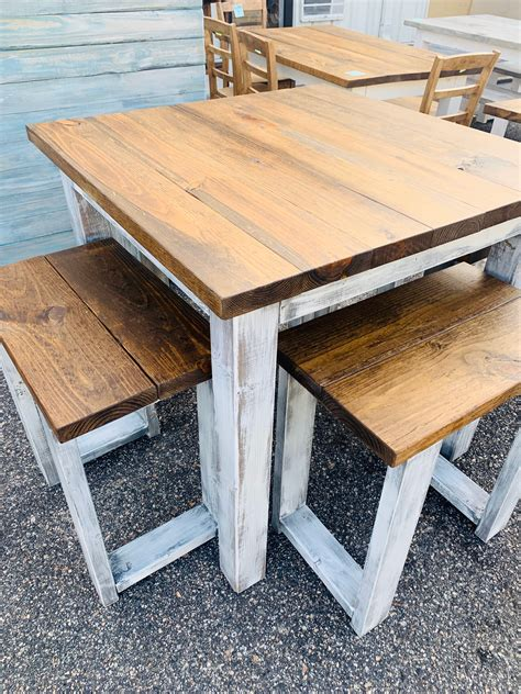 High Top Farmhouse Table Diy Images