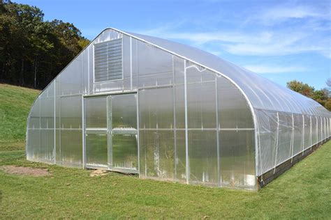 High Tunnel Greenhouse Plans